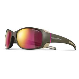 Julbo W's Monterosa Spectron 3CF Sunglasses Army/Camel/Pink-Pink